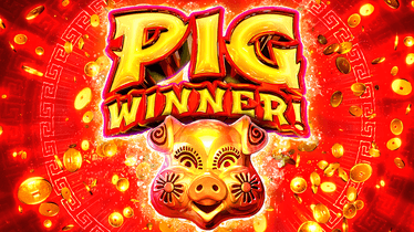 Pig Winner Slot Logo