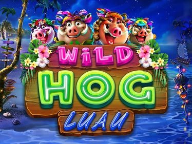 Wild Hog Luau Slot Machine