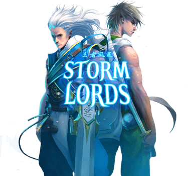 40 Free Spins for Storm Lords