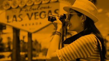 What are the regulations regarding taking pictures in a Las Vegas Casino?